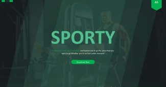 Sports Fitness PowerPoint Template
