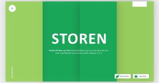 Online Shopping Store Powerpoint Template