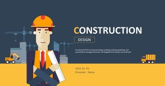 Engineering project planning Powerpoint template